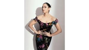Tamannaah Bhatia S Floral Gown Look On Instagram