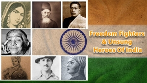 Indian Freedom Fighters Names List With Photo