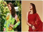 Richa Chadha Jacqueline Fernandez And Other Divas In Traditional Outfits