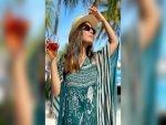 Hina Khan S Fashion At Maldives On Instagram