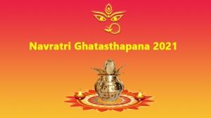 Navratri Ghatasthapana Puja Vidhi Vrat Katha Muhurat Mantra Puja Samagri