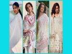 White Traditional Wear Goals From Sara Ali Khan Sanya Malhotra P V Sindhu And Huma Qureshi On Na