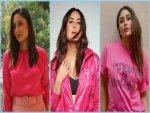 Kareena Kapoor Khan In Pink Outfits On Instagram