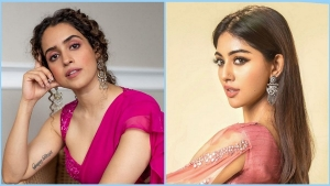 Sanya Malhotra And Other Actresses In Pink Outfits For Some Dussehra Inspiration