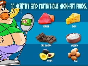 10 Healthy And Nutritious High-Fat Foods
