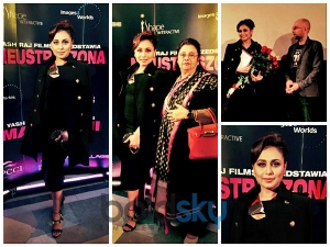 Rani Mukerji Looks WOW In Black Dress