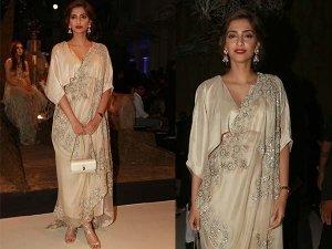 Sonam Kapoor, India Couture Week 2016