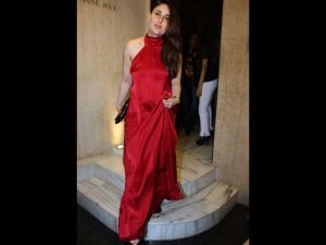 Kareena's Red Dress Is Talk Of The Town