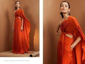 Vaani Looking Stunning In Tangerine