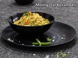Moong Dal Koshimbir Recipe