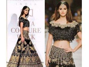 Disha Slayed At India Couture Week