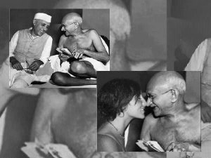 Fake Viral Pics Of Mahatma Gandhi
