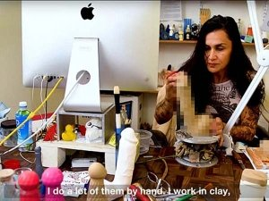 She Is An Artist Who Makes Sex Toys!