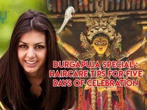 Durga Puja Special Haircare Tips