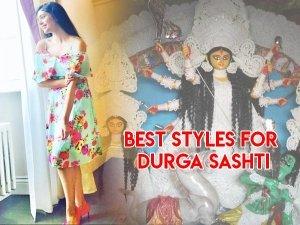 Types Of Dresses For Maha Sashti