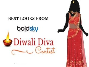 Top 5 Looks Of The Diwali Diva Contest
