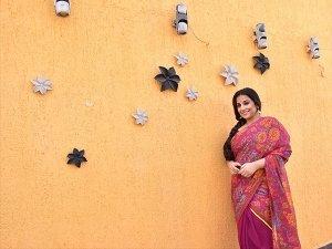 Vidya's Pretty And Casual Look