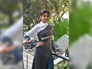Shilpa Shetty's Classy Look In A Dress