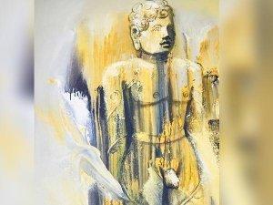 Unique Art Festival At Shravanabelagola