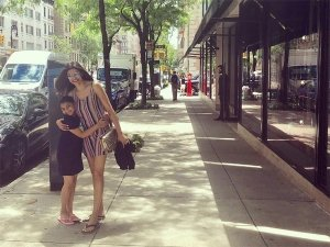 Sushmita Sen And Her Daughter's Aww-Worthy Pic Can Give You Fun Dress Goals