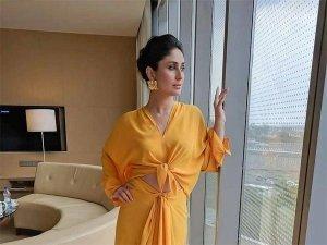 Kareena Kapoor Khan Glows In Yellow As She Attends An Event With BFF Karan Johar