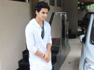 Woah! Ishaan Khatter's Quirky White Shirt Is Simply Unmissable