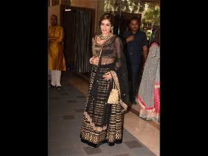Of Black And Gold, Raveena Tandon's Latest Attire Is Beautifully Detailed
