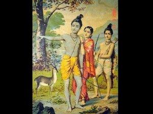 When Goddess Sita Swallowed Lakshman
