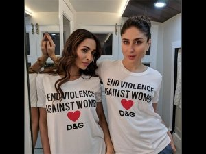 So, Kareena And Malaika Wore The Same White-hued Tee And We Love It