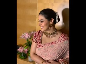 Kajol Looks Breathtaking In Her Gorgeous Intricately-embroidered Sari