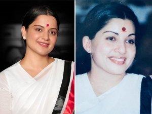 On 72nd Birth Anniversary Of Jayalalithaa, Kangana Ranaut's Latest Thalaivi Sari Look Goes Viral