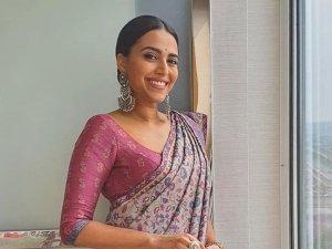 Swara Bhaskar's Kashmiri Kaani Weave Sari Is Ideal For Casual Outings