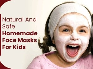 How To Make All -Natural And Safe Homemade Face Mask For Kids