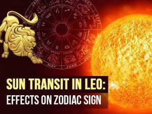 Sun Transit In Leo And Zodiac Signs