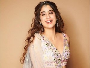 Janhvi Kapoor Sets Festive Goals In Her Floral Lehenga And You Would Love To Steal It From Her!