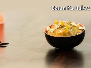 North Indian Special- Besan Ka Halwa Recipe