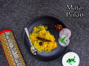 Peas Pulao Recipe