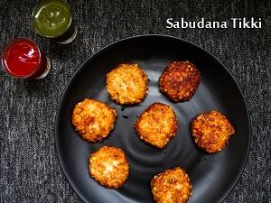 North Indian Special- Sabudana Tikki Recipe