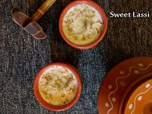 North Indian Special- Sweet Lassi Recipe