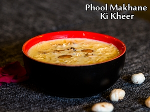 North Indian Special- Phool Makhane Ki Kheer Recipe