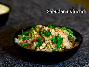 North Indian Special- Sabudana Khichdi Recipe