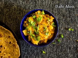 North Indian Special- Dahi-wale Aloo Recipe