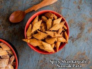 South Indian Special- Kara Shankarpali Recipe