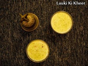 Lauki Ki Kheer Recipe