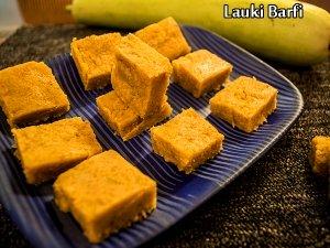 Lauki Burfi Recipe