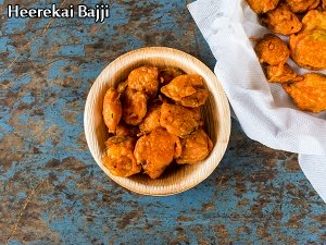 South India Special: Heerekai Bajji Recipe