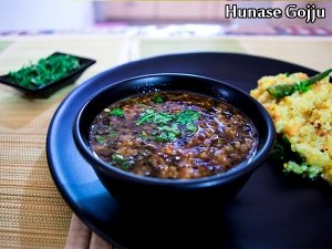 South India Special: Hunase Gojju Recipe