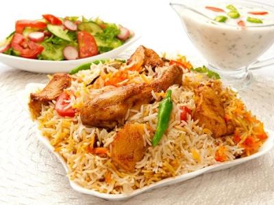 Garlic Chicken Rice Recipe