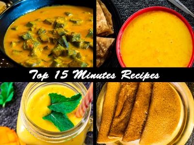 Top 15 Minutes Recipes