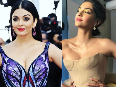 Sonam And Ash's Eye Make-up At Cannes 2